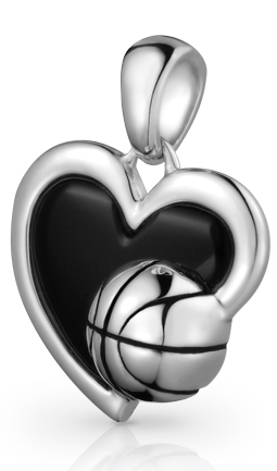 Love Basketball Pendant