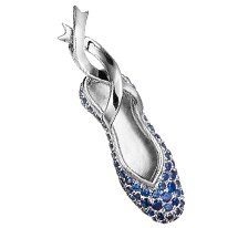 All-Star Ballet Shoe Pendant