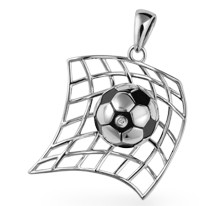 Back of the Net Pendant
