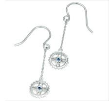 Free-Flowing Sprocket Earrings