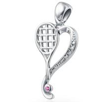 Heart of Tennis Pendant
