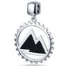 Mountain Tag Pendant
