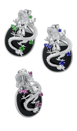 Coiling Dragon Pendant