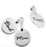 Inscribed Table Tennis Bat Pendant & Lapel Pin