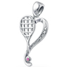 Heart of Tennis Pendant