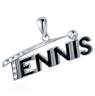 Tennis Pendant