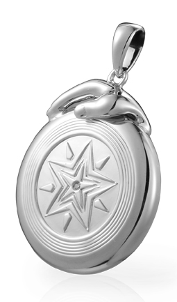 Ultimate Star Disc Pendant