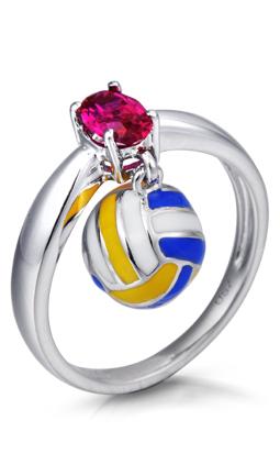 Volleyball Rocks Ring